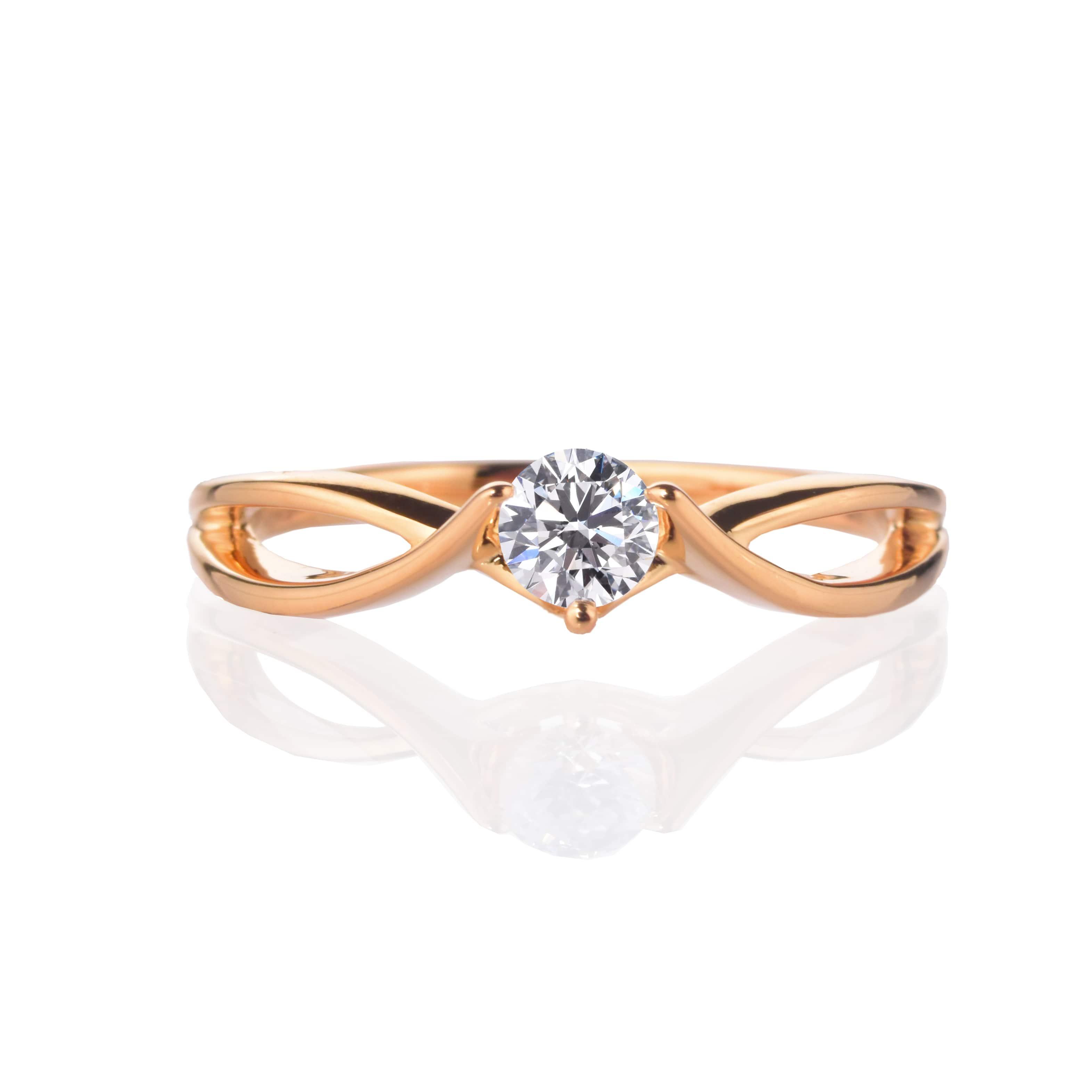 【プロポーズ用】【 0.20ct D SI2 EX】エンゲージリング 婚約指輪【RG200】